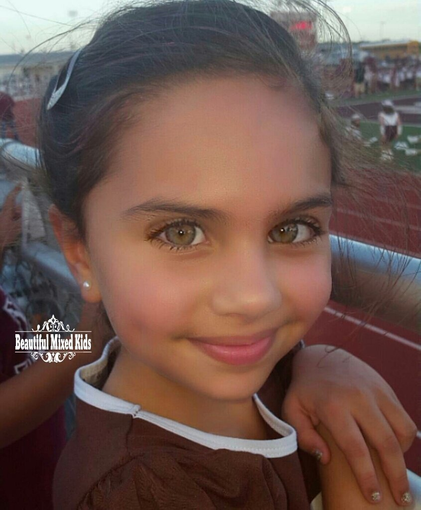 beautiful mixed kids on twitter quotaria imani callahan 6