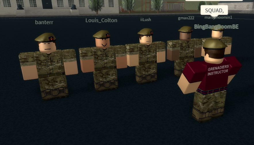 Grenadier Guards (@rbxgrenguards)