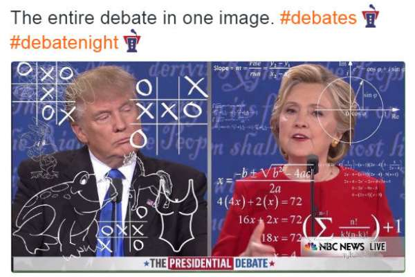 Social media reacts to first presidential debate in hilarious memes