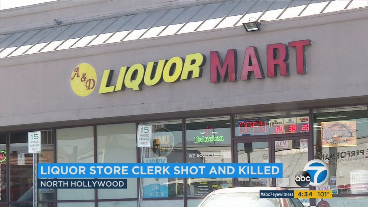 Police still seeking 2 suspects in weekend killing of liquor store clerk in North Hollywood