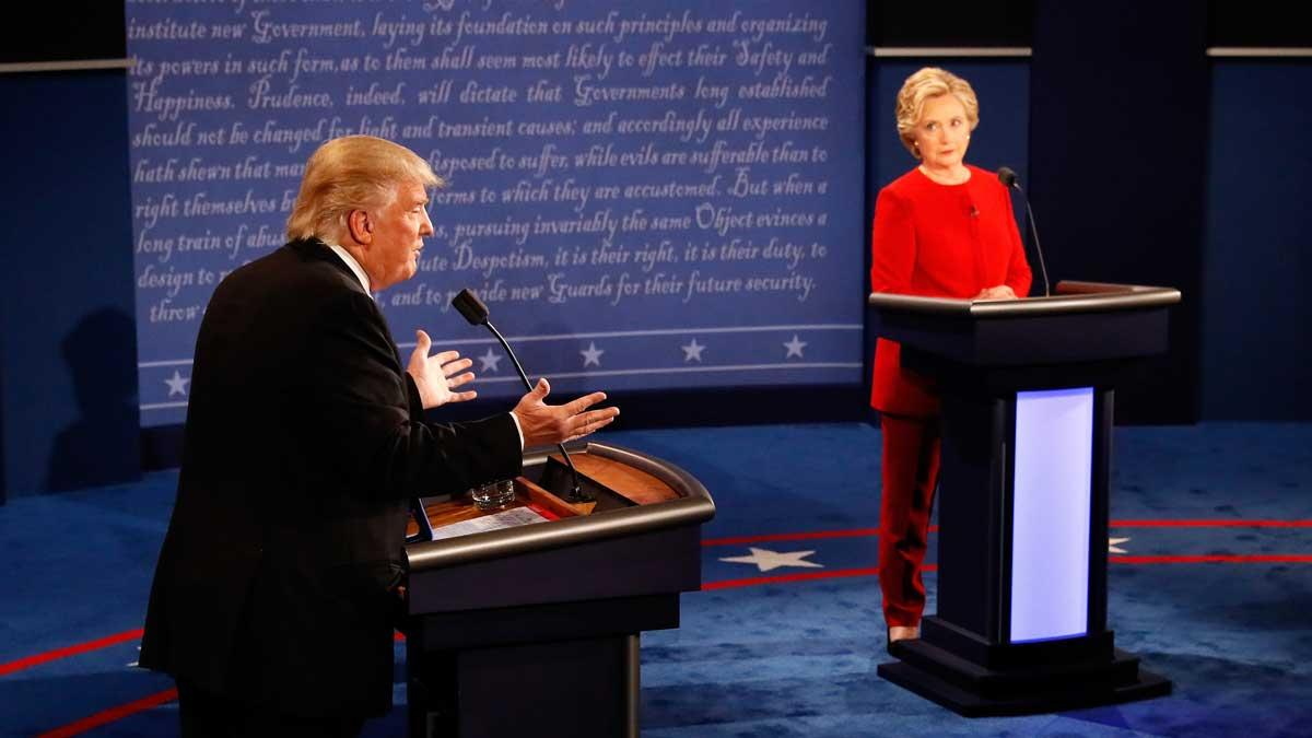 Didn't get to watch the debate? Catch up here with some flash points