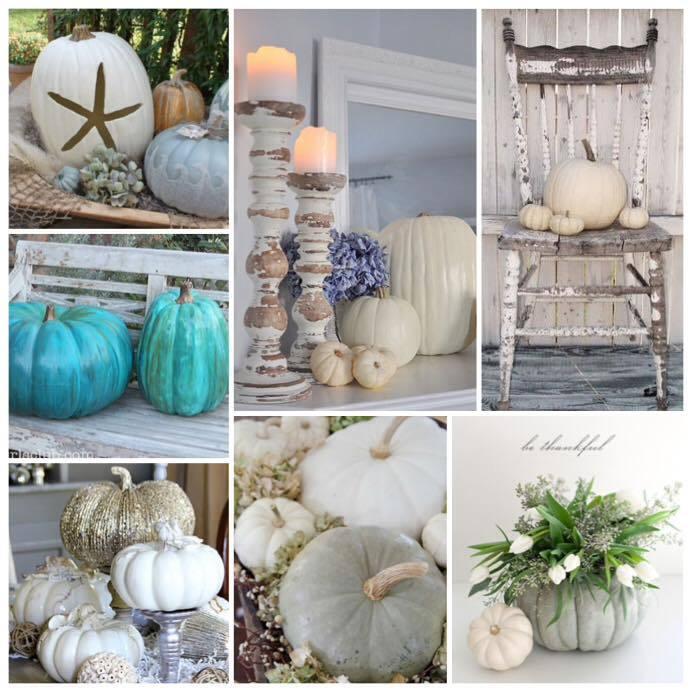 Alternatives to Orange 🎃 Pretty #homestyling Pumpkin ideas #shabbychic #vignettes #autumnd… https://t.co/aRtOaogZ5v https://t.co/QzfIte0grV