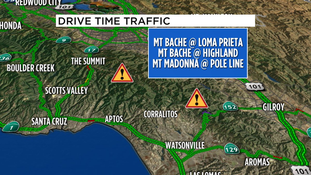 Loma Fire- CHP is doing road closures at the following points