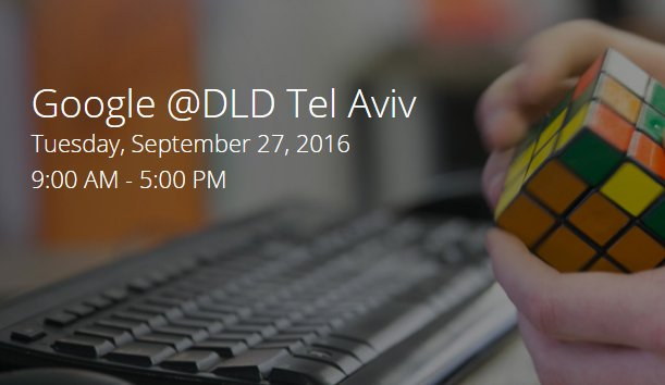 Meet our CEO @AssafLuxembourg at @google @CampusTelAviv event at #DLDTelAviv today | #Israel #tech #innovation #startup #business #BDSFail https://t.co/VkUVCenKZL