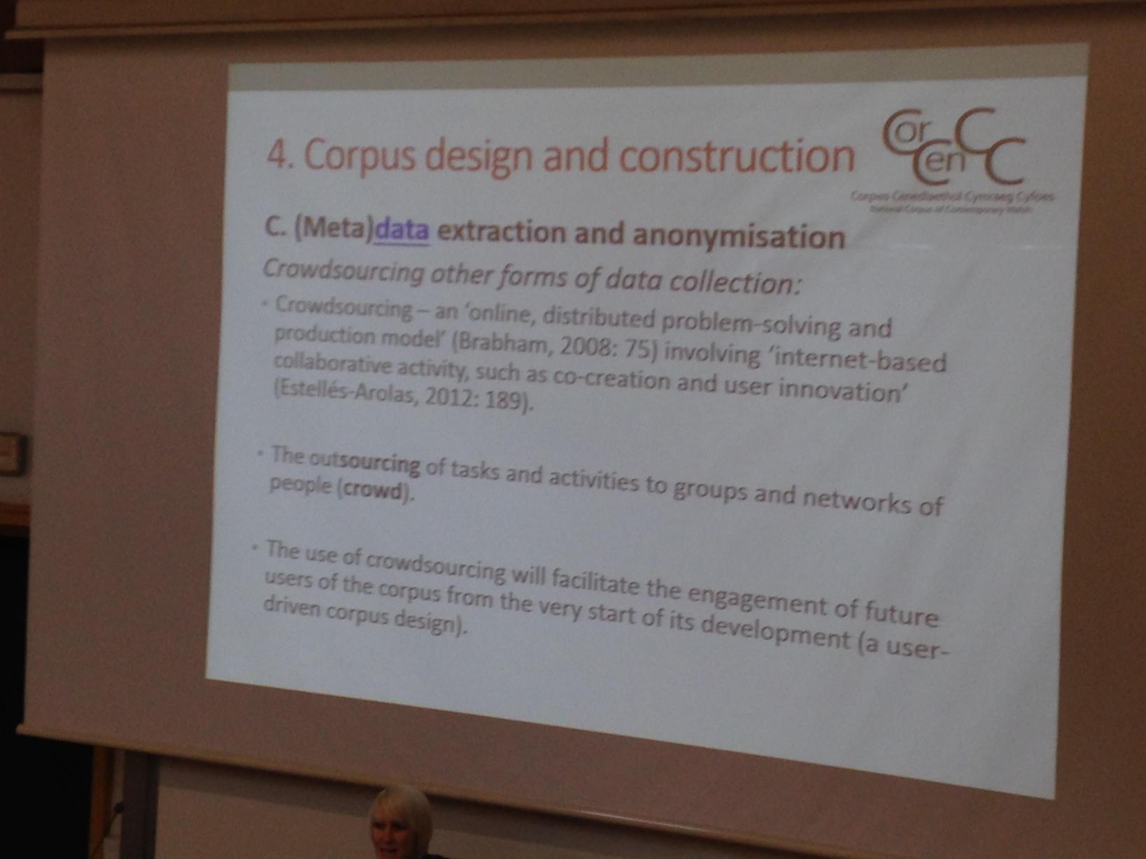 Usine crowdsourcing for CMC corpora #cmccorpora16 https://t.co/da1MrVw6Kl