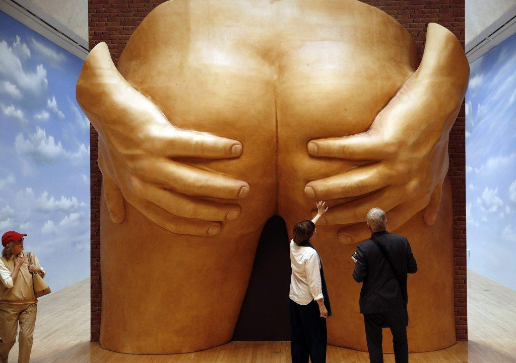 Turner Prize nominees include huge buttocks