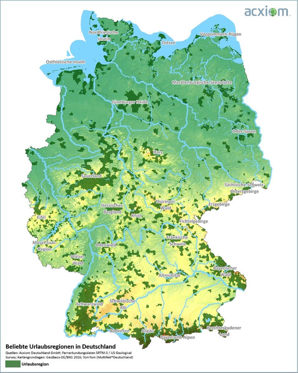 Acxiom Deutschland On Twitter Karte Des Tages Zum