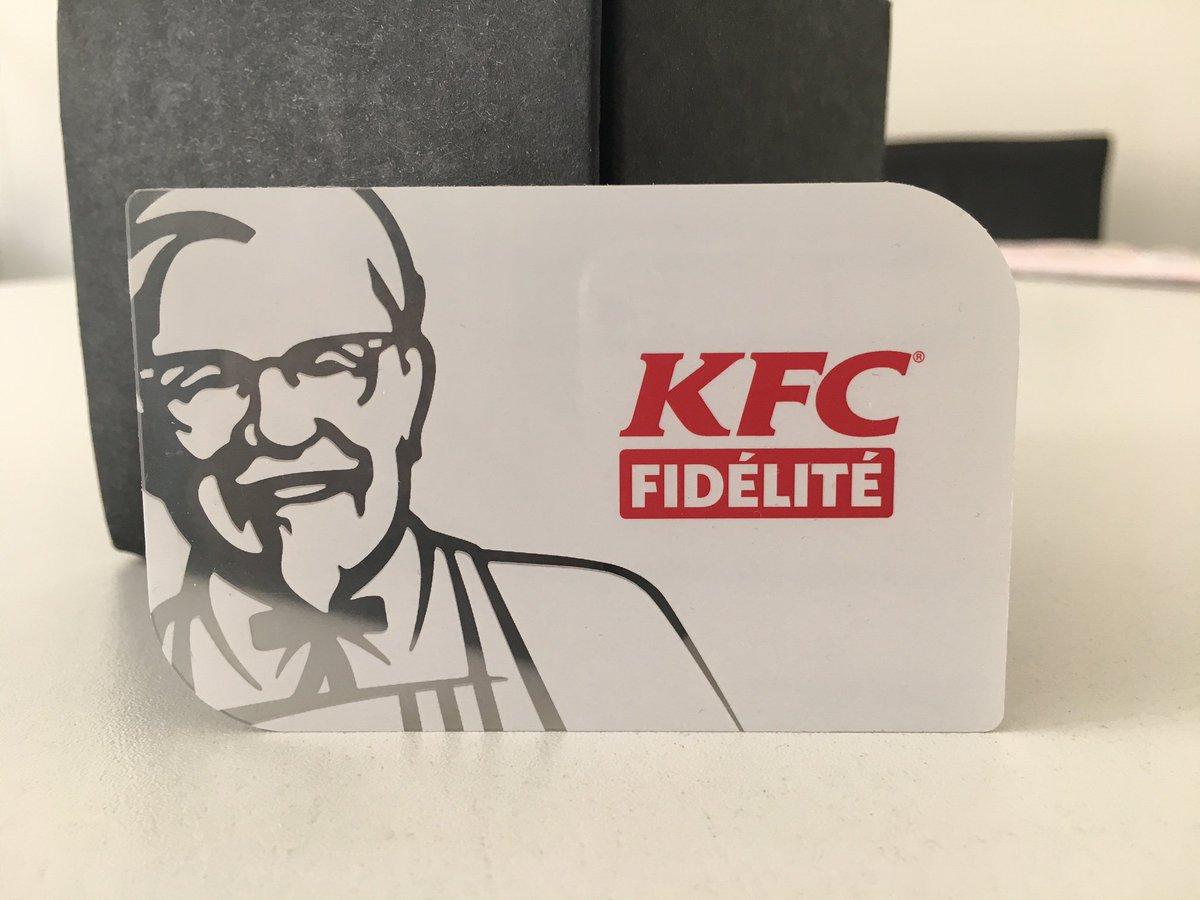 FIDÉLITÉ GRATUIT KFC TÉLÉCHARGER