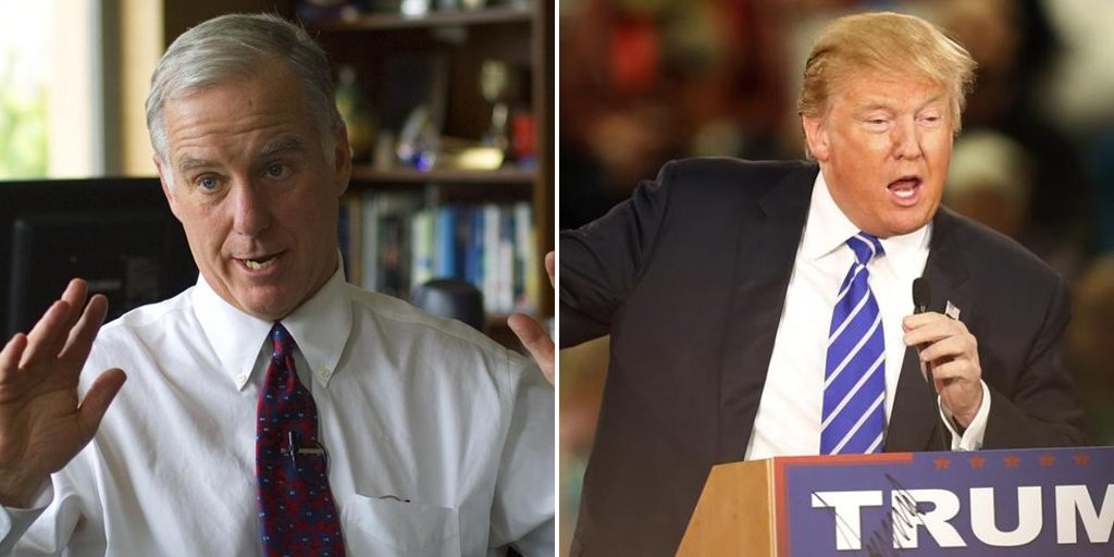 The claim that Howard Dean made in connection with Donald Trump's sniffling Debates2016