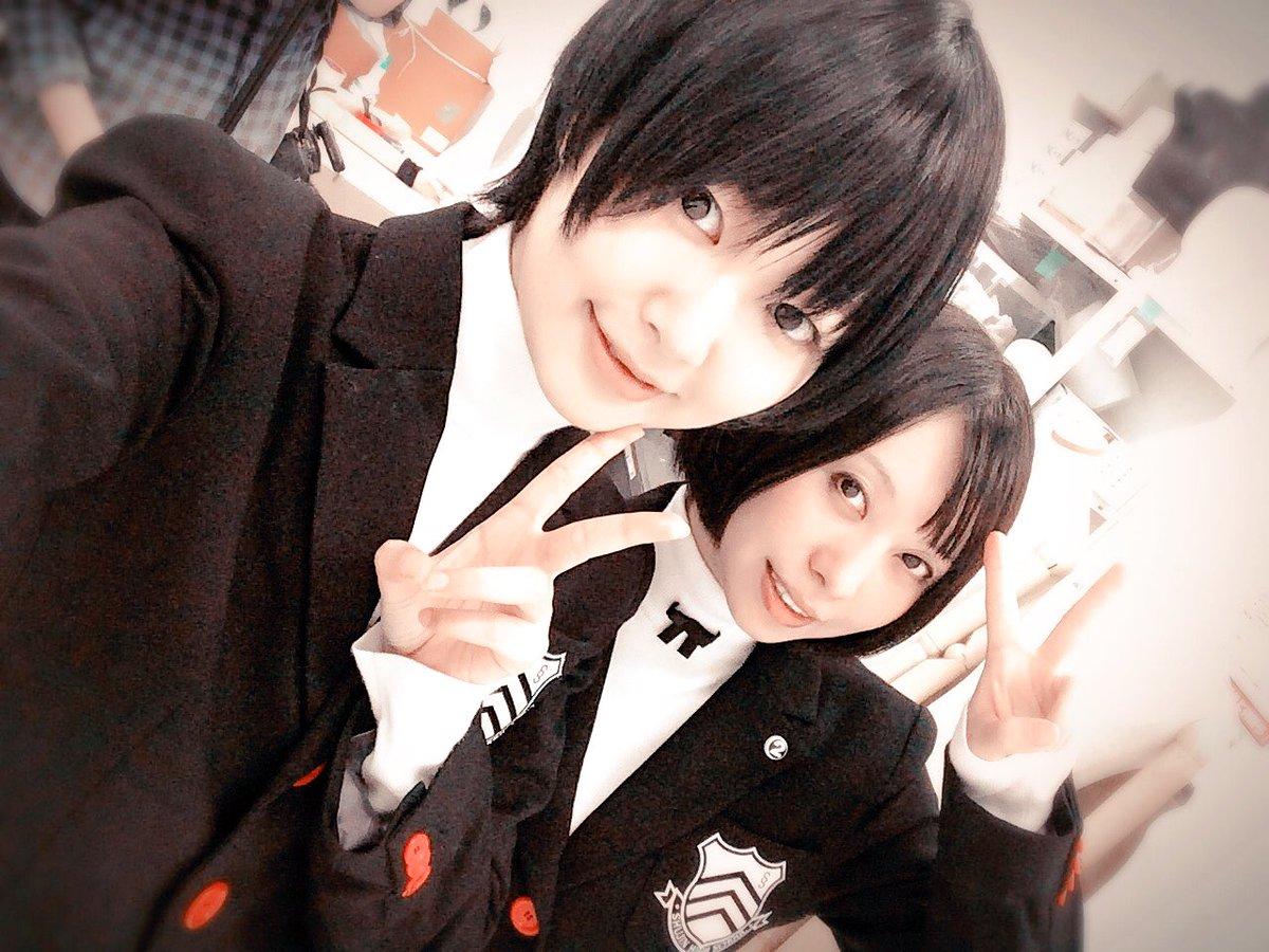 ゲストに永野希ちゃんが来てくれたよ☆コスプレは、発売されたばかりのペルソナ5より、一般男子女子生徒(OvO)発売されたばかりなのにもう衣装があるなんてすごい!