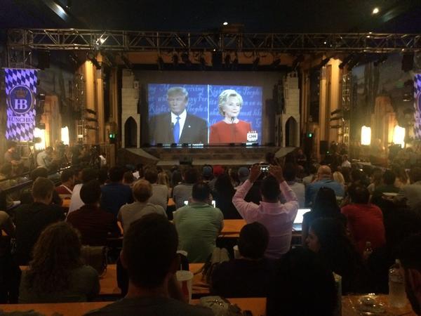 The debate as seen through millennials' eyes