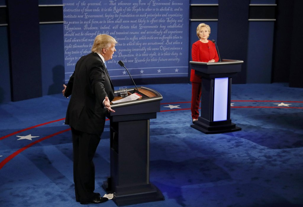 """""""Hillary has experience, but it is bad experience,"""" Donald Trump said Debates2016"""