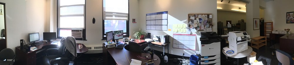 Be patient with the mess in our office! We're making space for our growing team. #MarysPence #creativemess https://t.co/ttRSm0o9nl