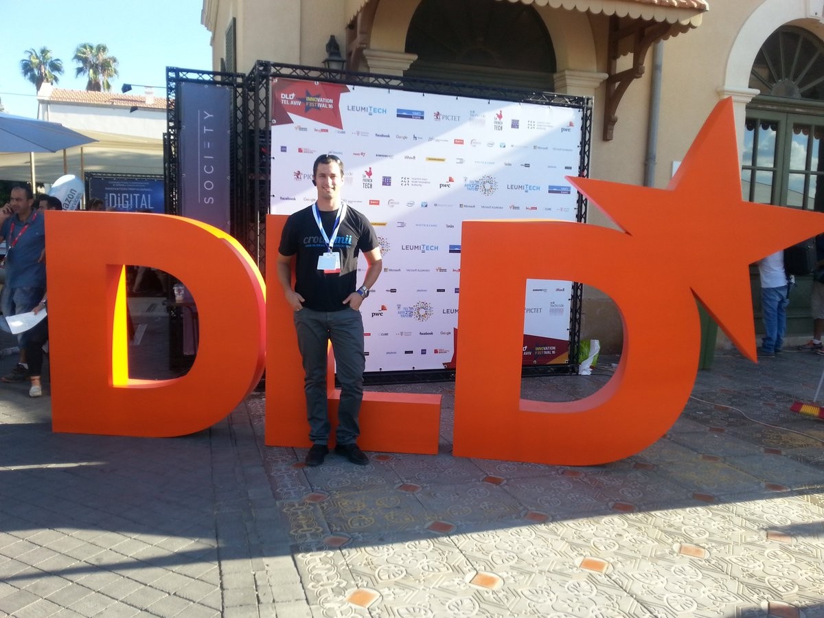 As always, was incredible today at #DLDTelAviv | #Israel #tech #innovation #business #economy #startup #entrepreneurship #startupnation https://t.co/93EMfgxpud