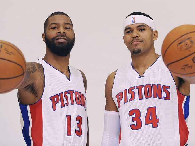 Forward March: See all the Pistons photos from media day on Monday