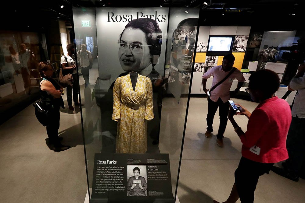 Detroiters find Smithsonian's new African-American museum profound.