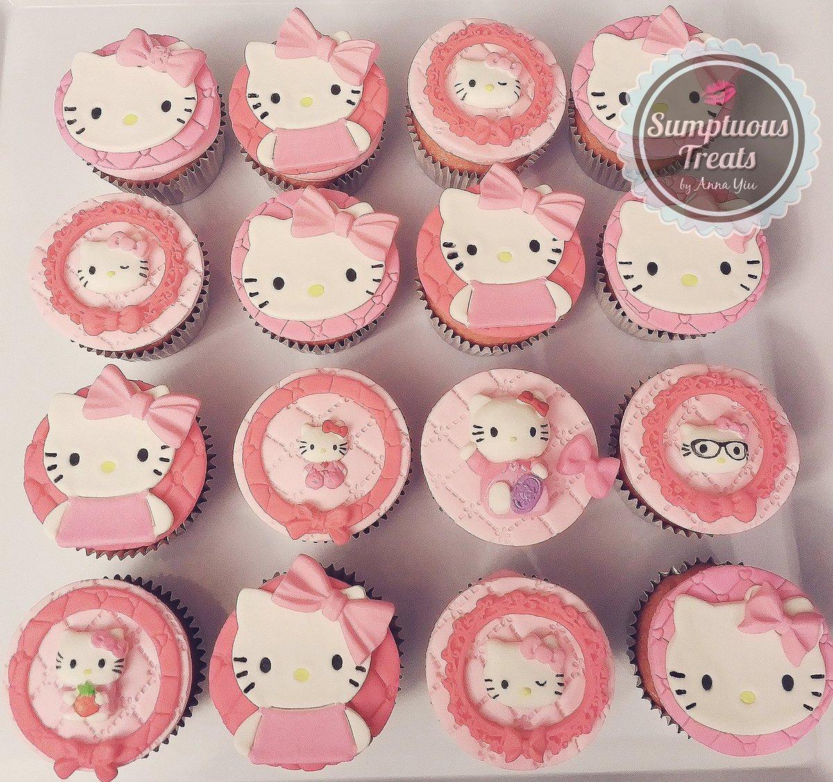 Sumptuous Treats On Twitter Hello Kitty Cupcakes Baby