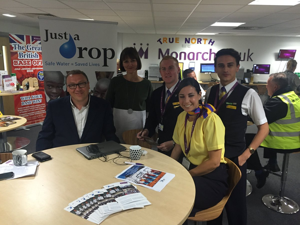 And a big shout out to the @Monarch Manchester crew for their support today too https://t.co/Rd6taPgMjJ
