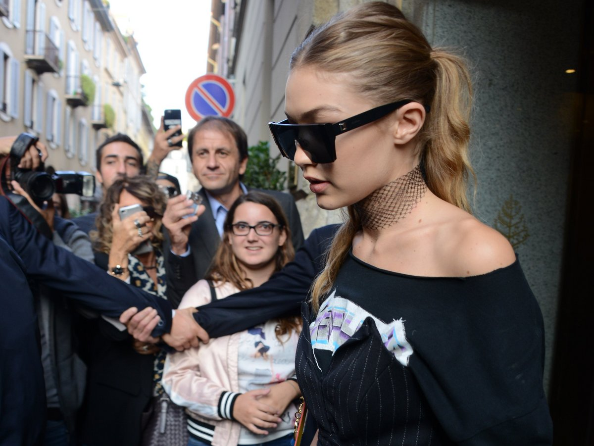 """""""Unladylike"""" Gigi Hadid and why women always get blamed for acts of violence https://t.co/9baKR389aj https://t.co/oSeu8hLnb6"""