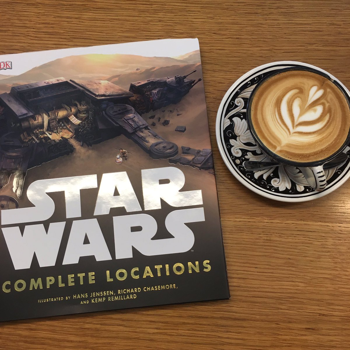 Grab a coffee and travel to a galaxy far, far away... Star Wars: Complete Locations is out today bit.ly2dcVSKf https://t.co/PXgXFaX8Fx