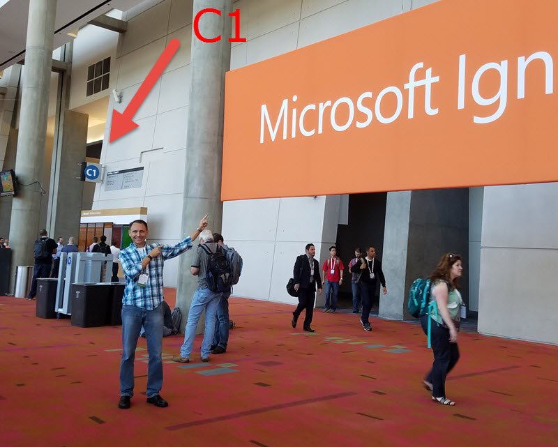 Hey #MSIgnite hooligans, join me for breakfast tomorrow morning at 8:00. Meet outside the meal hall under this sign, https://t.co/sIbGcqi28F