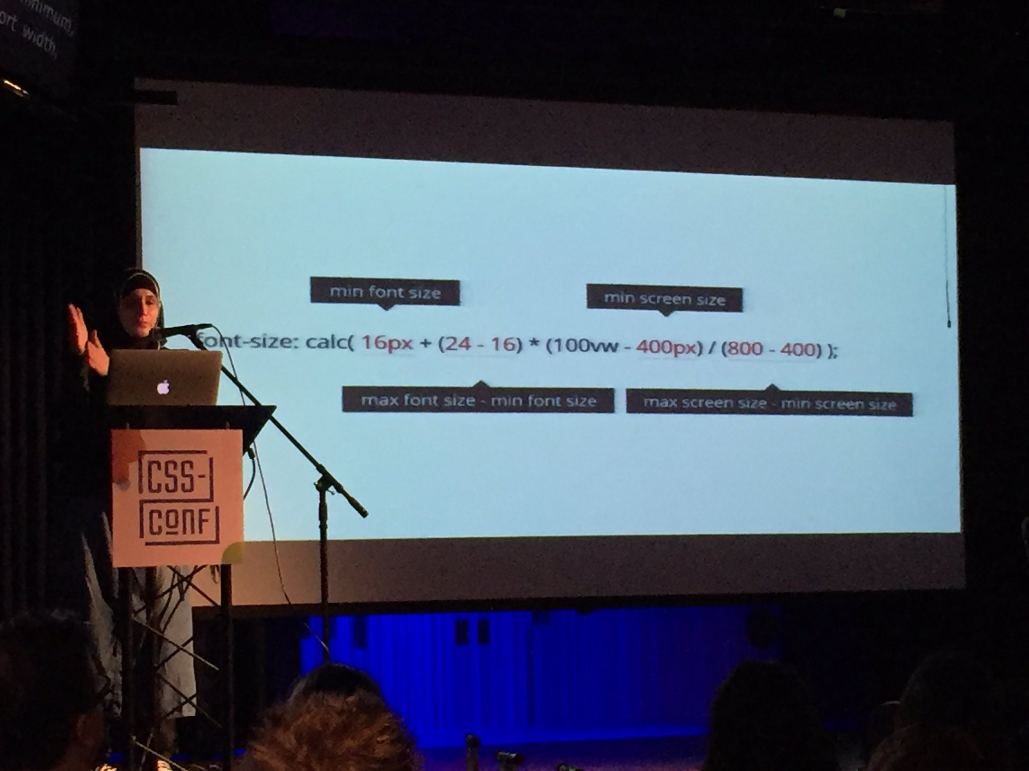 Math with @SaraSoueidan #cssconf https://t.co/imK4QvUoY7