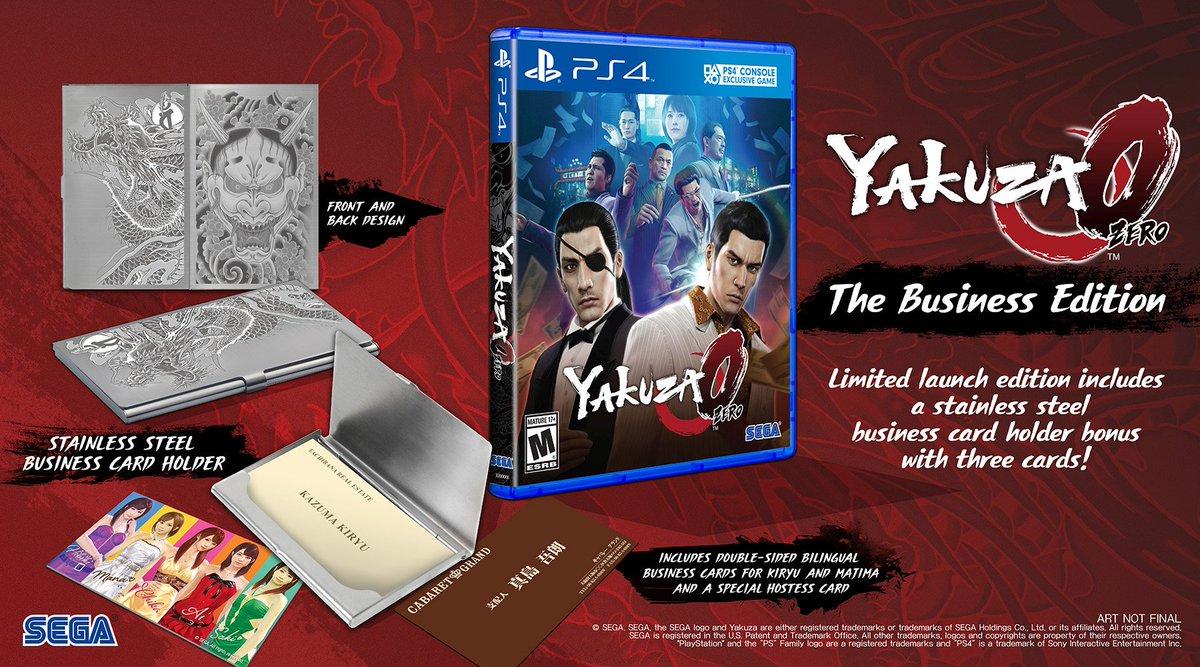 Yakuza 0 The Business Edition