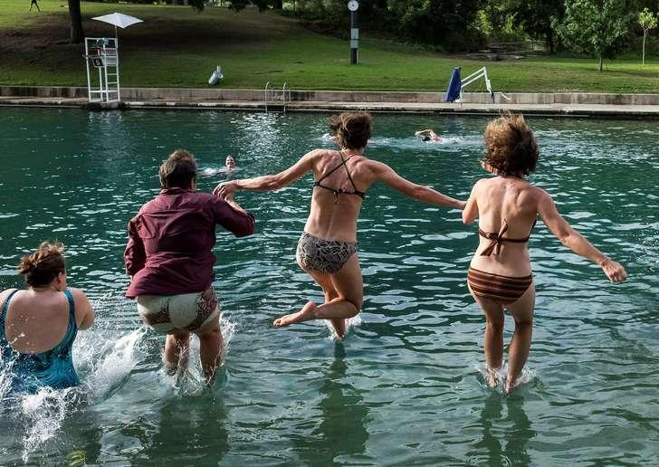 At Barton Springs University, water dominates the curriculum