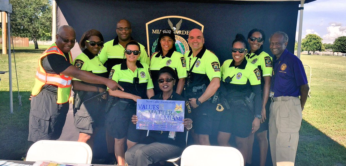 Scott lake es on twitter assistant chief cynthia machanic miami gardens police dept support for Miami gardens police department