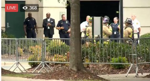 Bomb squad called to CMPD Headquarters due to suspicious package WATCH LIVE