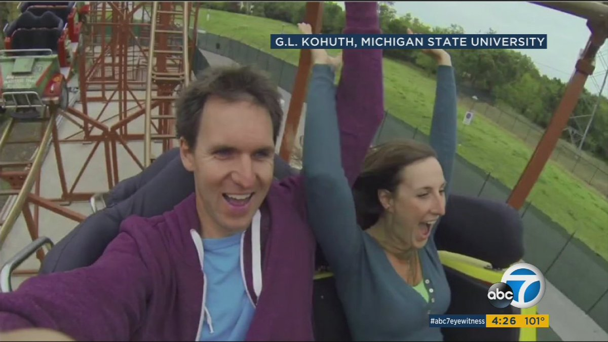 Need to pass a kidney stone? Ride a roller coaster, study says