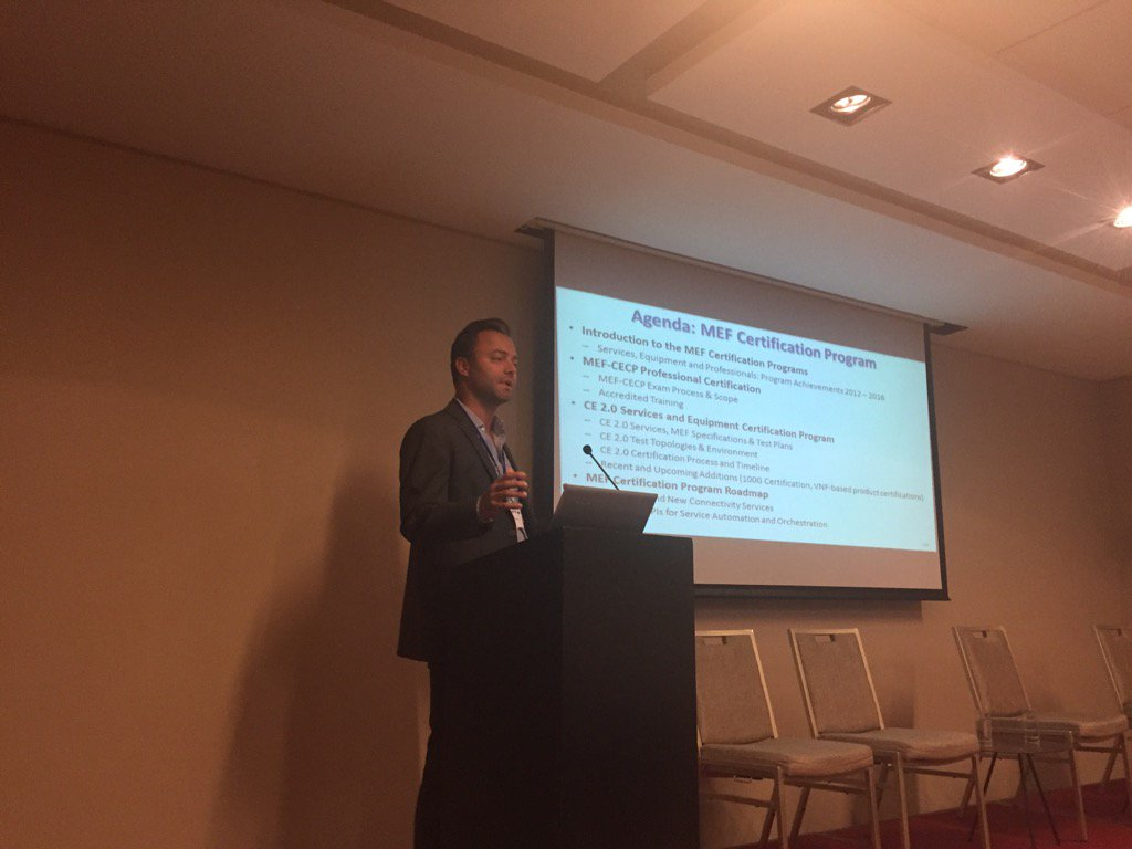 Mef On Twitter Thomas Mandeville From Iometrix Presenting The