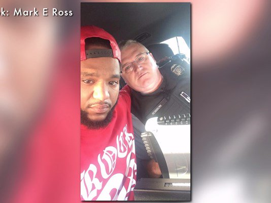 Instead of a trip to jail, officer drives man 100 miles to his family. The viral story