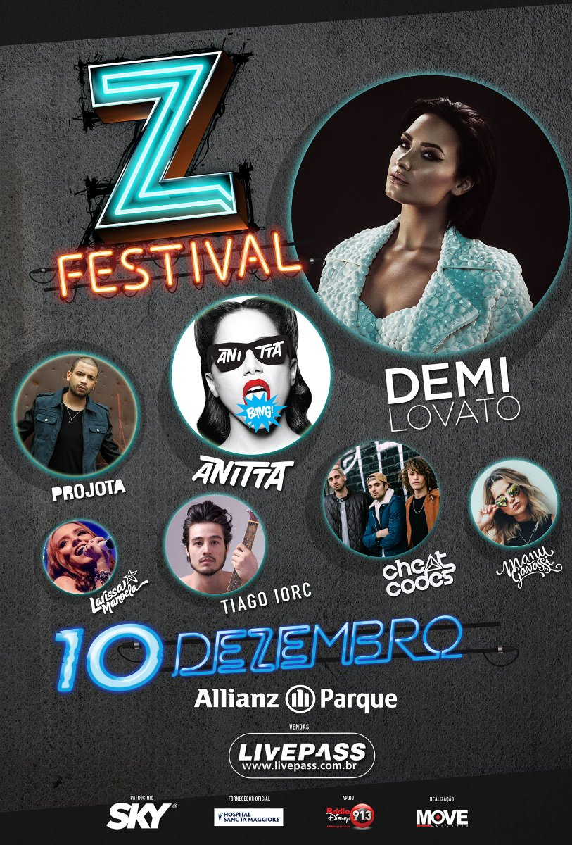 Oi Brazil! So happy to see you at the Z Festival in São Paulo, December 10th! Cant wait! Beijos e abraços! Tickets:…http://zfestival.com.br/tickets.html https://t.co/PSerYgfOMu