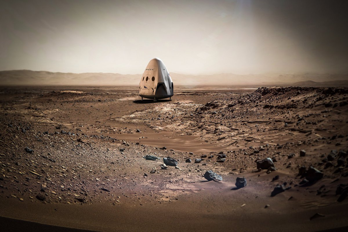 Elon Musk Outlines Plans to Colonize Mars