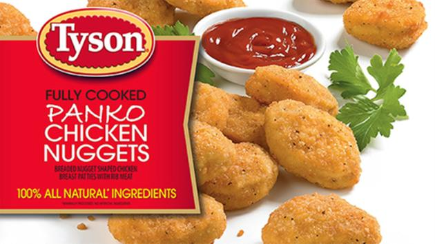 Tyson recalls more than 132K pounds of chicken nuggets after reports of plastic