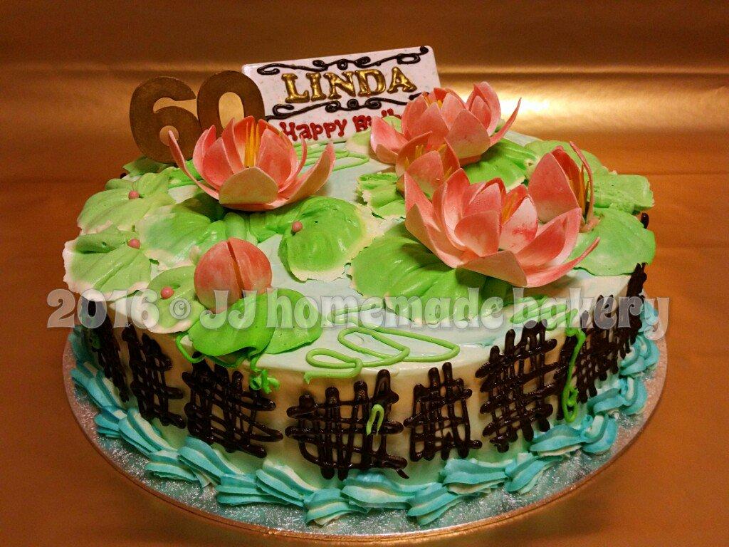 Jj bakery on twitter lotus flowers birthday cake birthday lotus 636 pm 27 sep 2016 izmirmasajfo