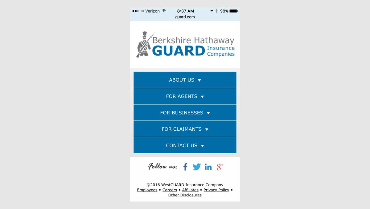 Berkshire Hathaway Guard Agent Login Workers Compensation Insurance