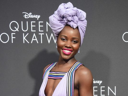 @Lupita_Nyongo back on screen 3 years after '12 Years A Slave'