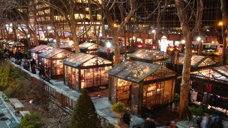 The Winter Village at Bryant Park announces Oct 29 opening date