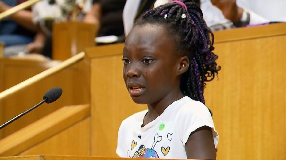 Charlotte girl: 'We are black people and we shouldn't have to feel like this' -