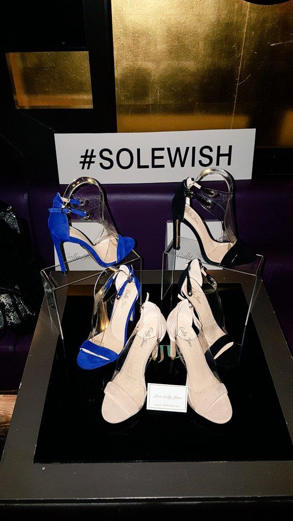 #solewish  great launch @MissCallyJane ❤