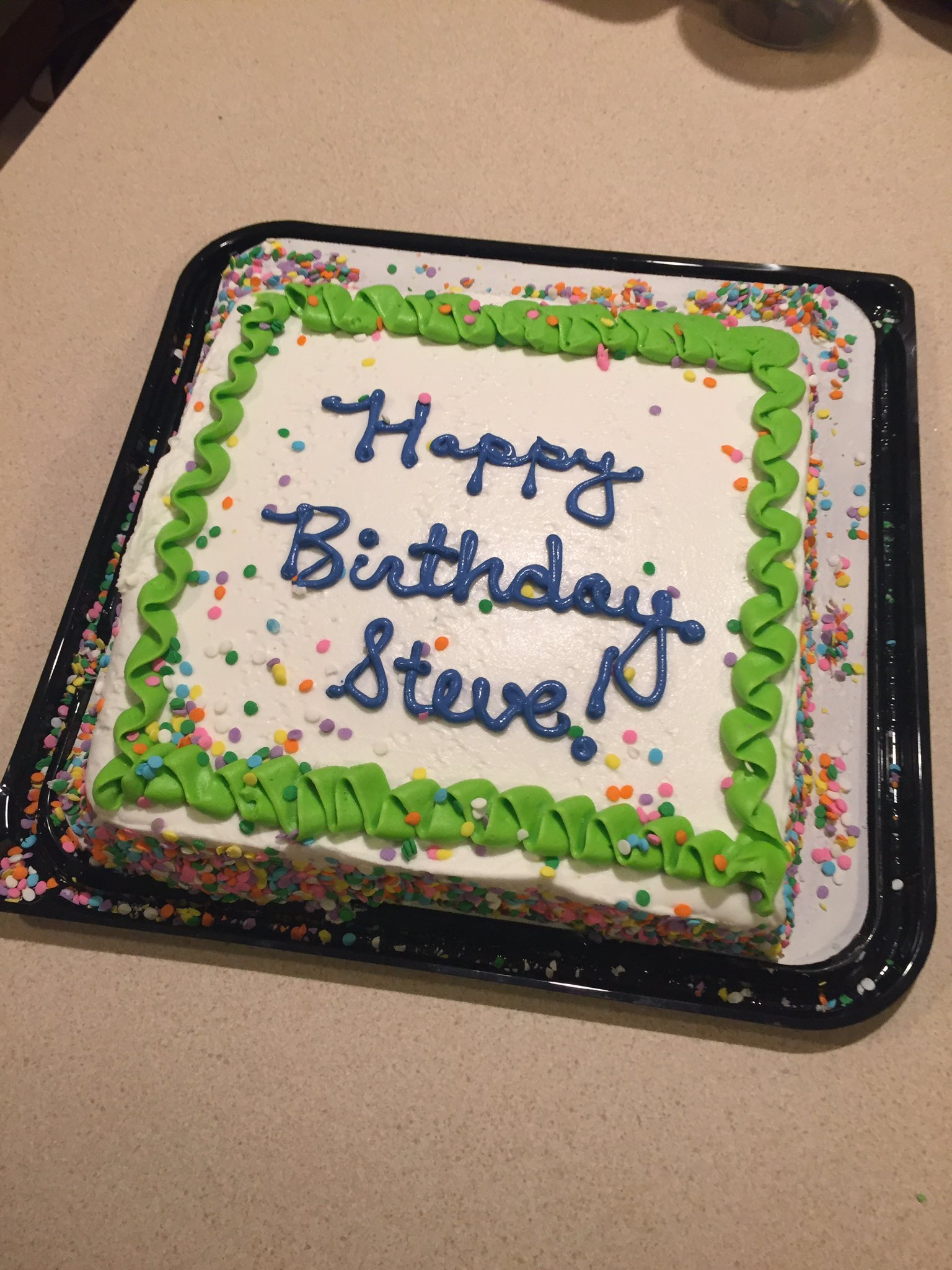 Elijah Daniel On Twitter Got A Walmart Cake For My Bro In Law Nick The Woman Asked His Name I Thought She Said Color So Surprise Me Put