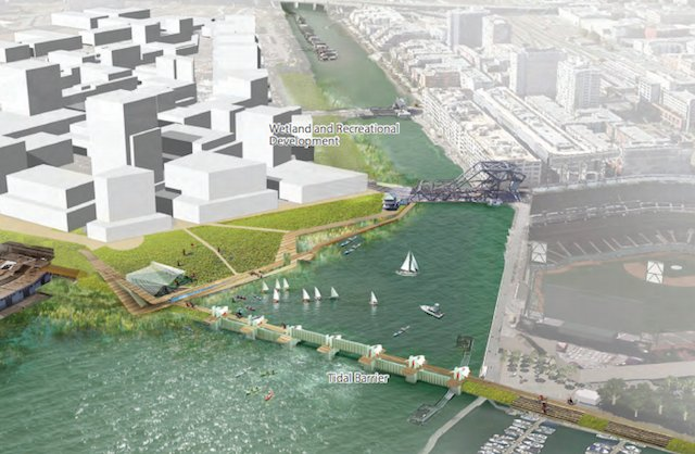 Fighting Rising Sea Levels In Mission Bay Will Require Levees, Sea Walls