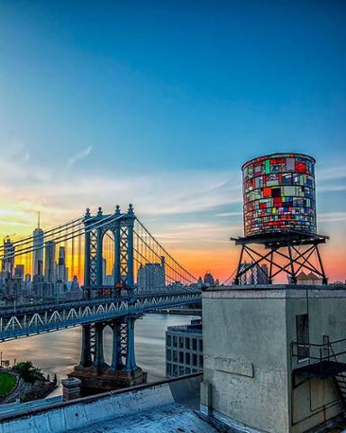 The gorgeous view from Brooklyn at sunset. Thanks to Instagram user @jahnile for sharing with abc7ny!