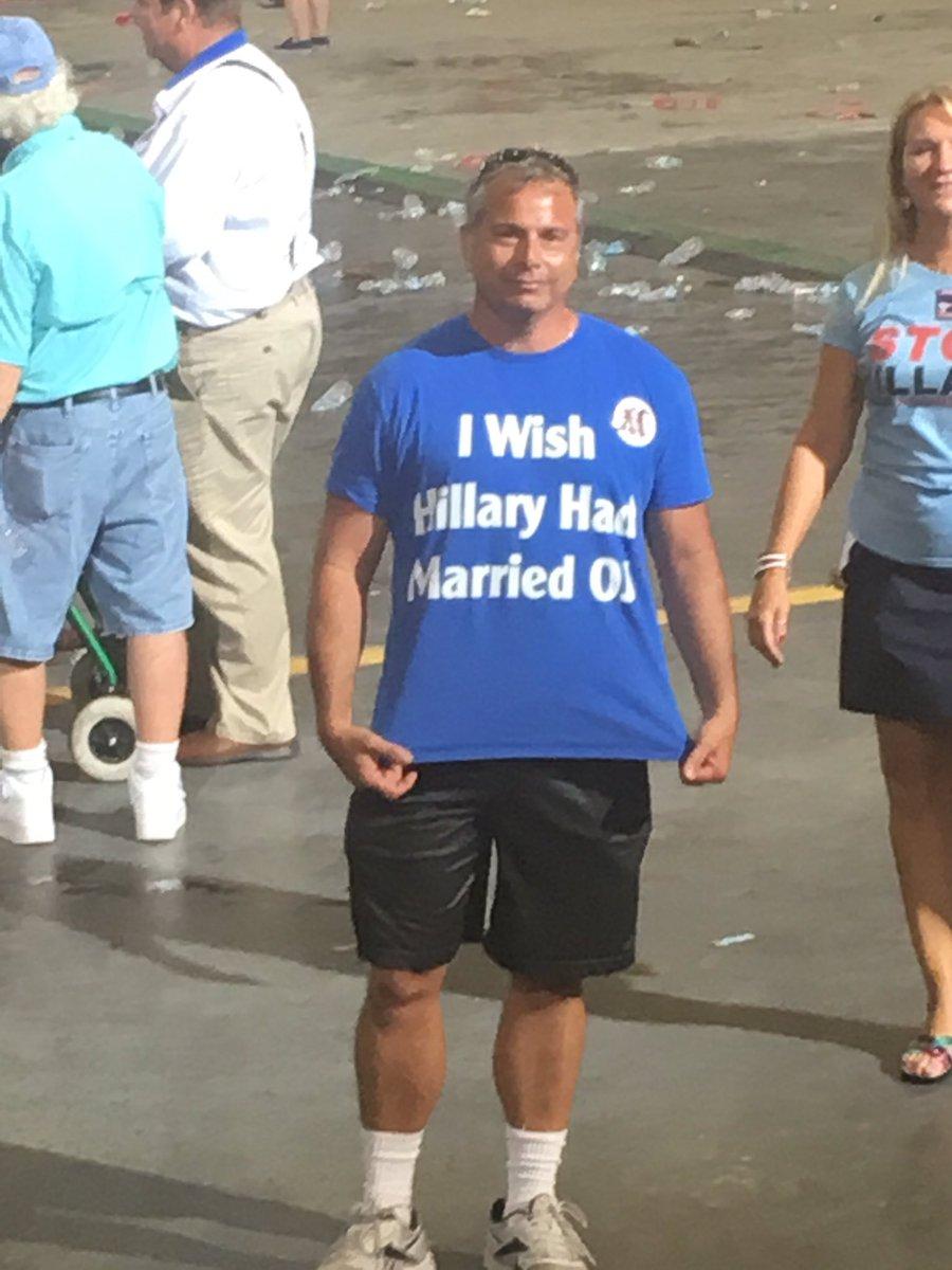 I wish Hillary had married O J