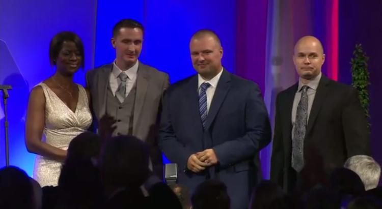 Baltimore cops previously charged in Freddie Gray's death celebrated at right-wing gala