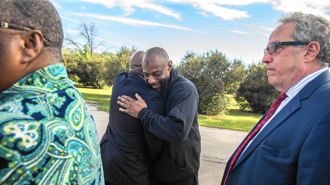Inmate freed after nearly 25 years in prison when DNA clears him in boy's killing