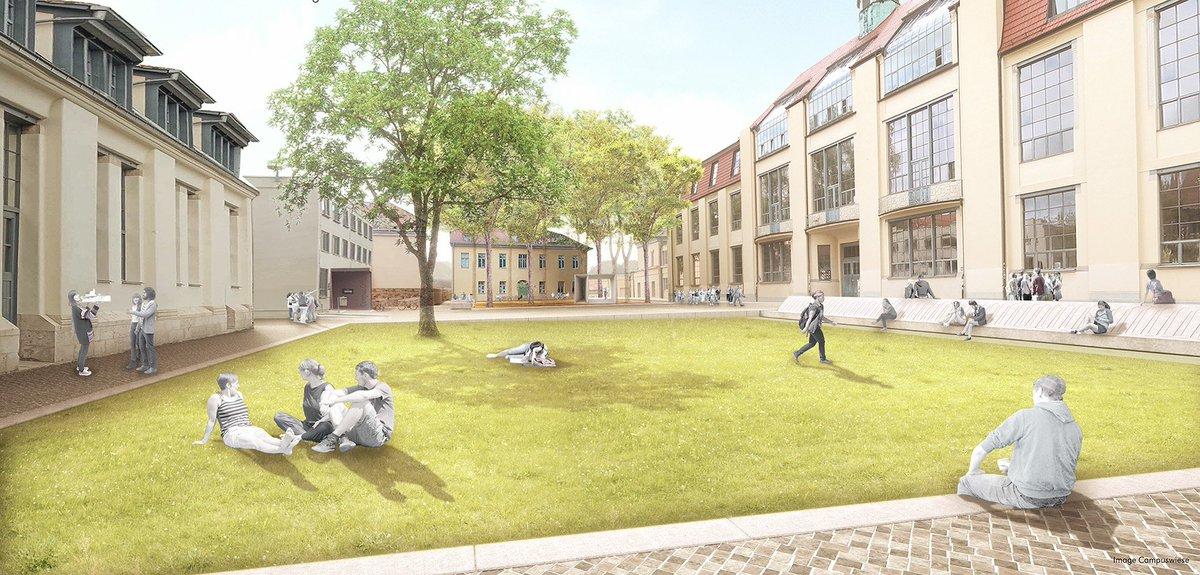 Bauhaus Uni Weimar V Twitter Der Gewinnerentwurf Von