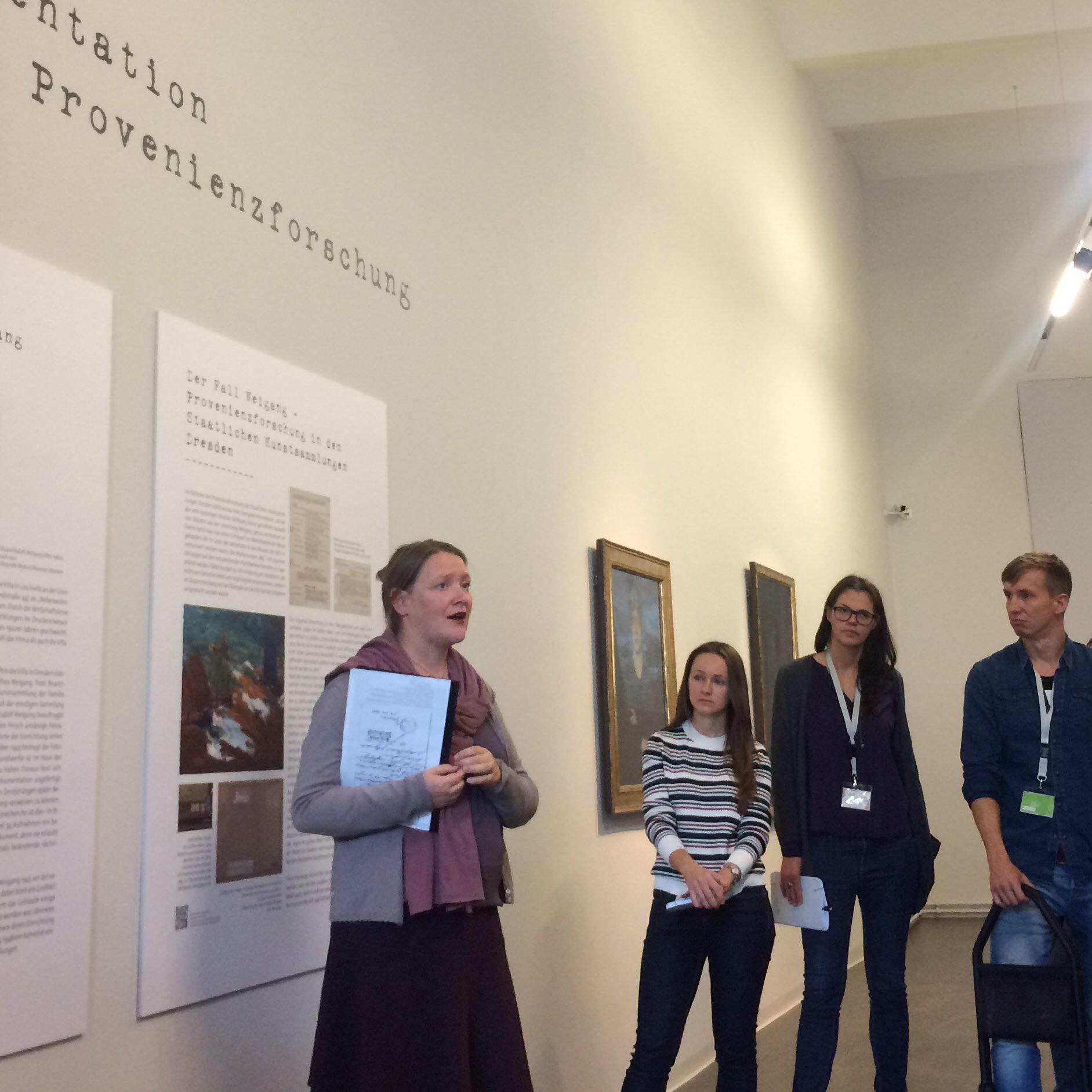 #ddss16 heute in den @skdmuseum: Auftakt zur Provenienzforschung im #Albertinum Die Sammlung Weigang https://t.co/iKbLl4tLmZ